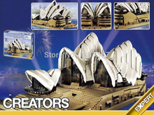 Creator Sydney Opera House Minifigures Educational Assembled Building Blocks 3017pcs Set Models Figures Toys For Children(China (Mainland))