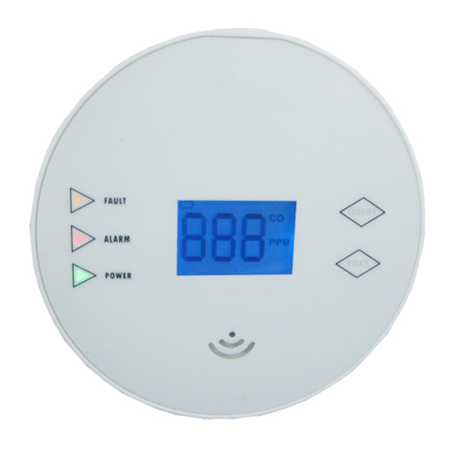 wireless CE approved home security carbon monoxide alarm battery operated(China (Mainland))