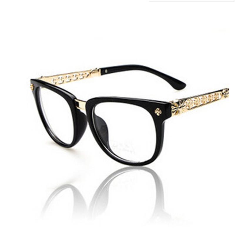 Eyeglass Frame Designers : Retro 2016Vintage Metal Optical Frame Famous Brand ...