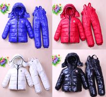 Brand Winter Baby down coat kids parka children jackets Inverno casaco infantil casacos snowsuit girls coats boys clothing set