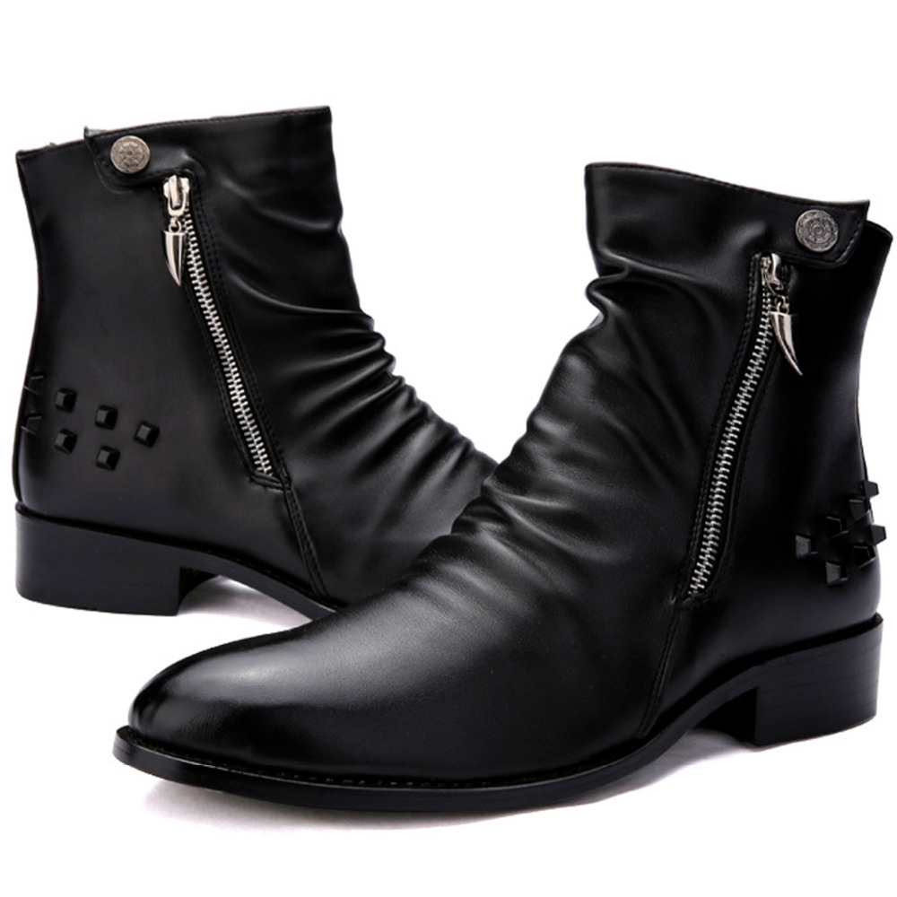Punk Rock Ankle Boots Ankle Boots Mens Punk Rock