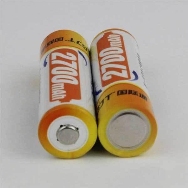 BuyNeer Cheap GJT 2700mAh 1.2v Rechargeable Ni-MH AA Battery 1PCS(China (Mainland))