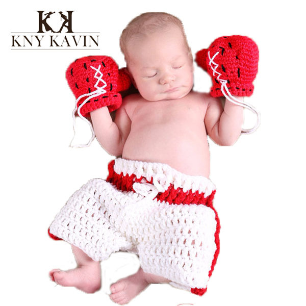 Newborn photography props Ali boxing baby boy hat High quality baby clothing photo props kids clothing and accessorise HK552(China (Mainland))