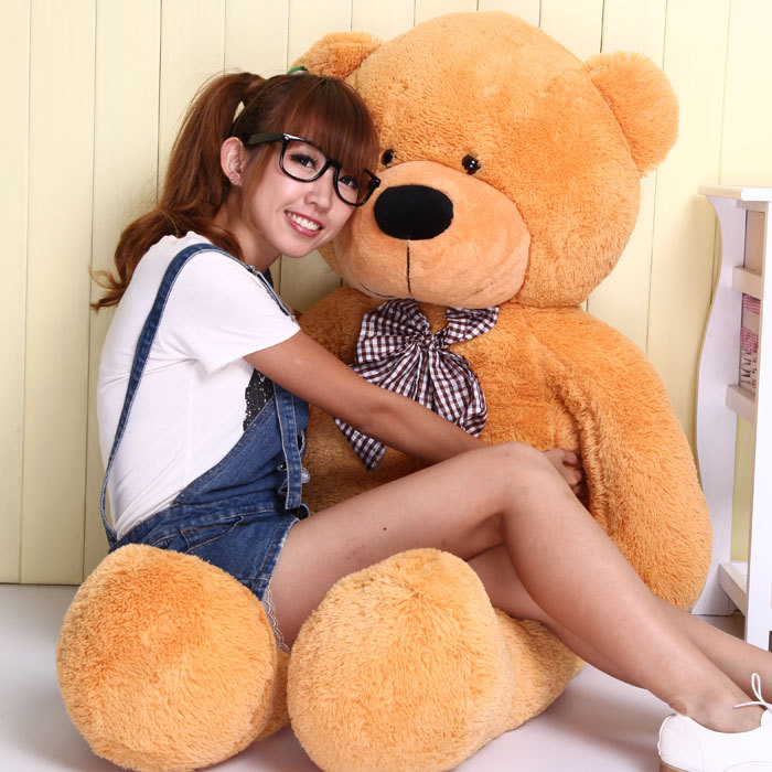 100cm Giant Teddy Bear Plush Toys Stuffed Teddy Cheap Pirce Gifts for Kids Girlfriends Christmas Gifts<br><br>Aliexpress