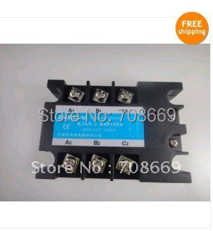 Three Phase 3Phase DC AC Solid State Relay SSR-100A 100A<br><br>Aliexpress