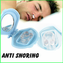 Silicon Anti Snore Ceasing Stopper Anti-Snoring Free Nose Clip Health Sleeping Aid Equipment