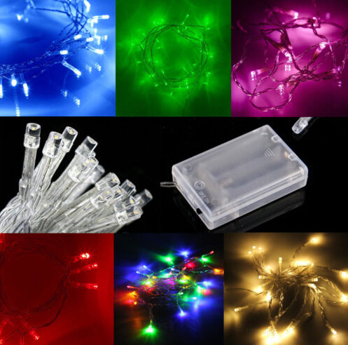 Taping Christmas Lights To Wall : Aliexpress.com : Buy 5*2M 20led Battery Christmas Decoration Light Holiday Party LED Flexible ...