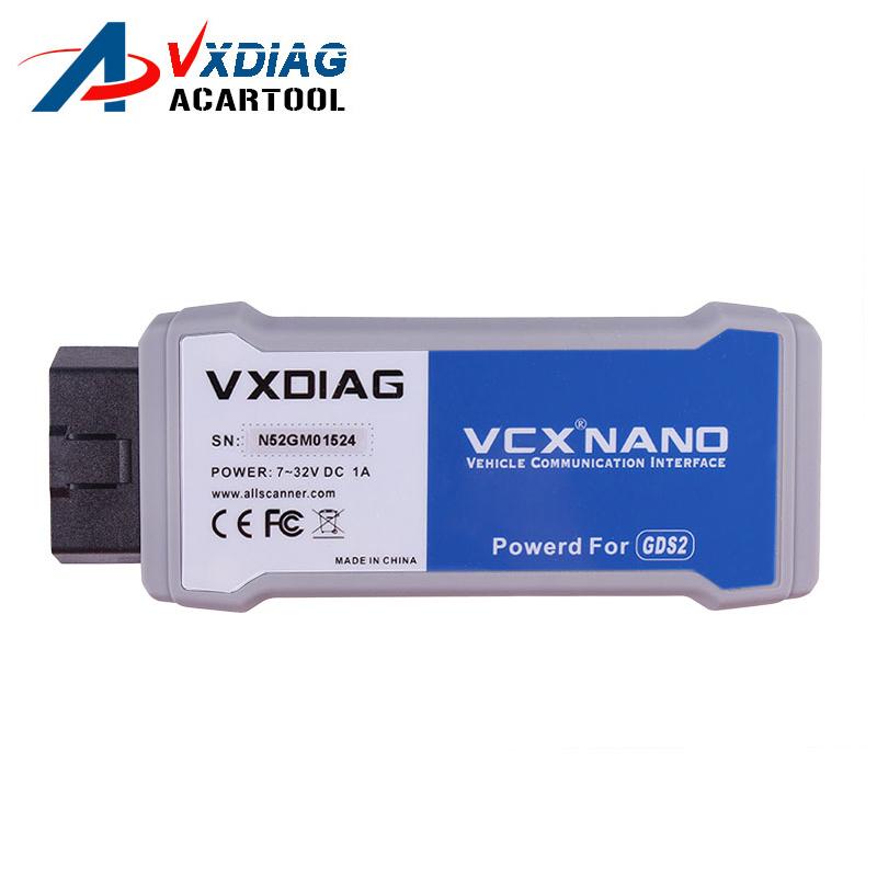 2017 VXDIAG VCX NANO for GM / OPEL GDS2 tech2win Diagnostic Tool VXDIAG for GM Vxdiag VCX NANO Free Shipping