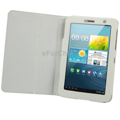 Гаджет  Free Shipping White PU Leather Case Cover with Holder Stand for Samsung Galaxy Tab 2 (7.0)/P3100 None Изготовление под заказ