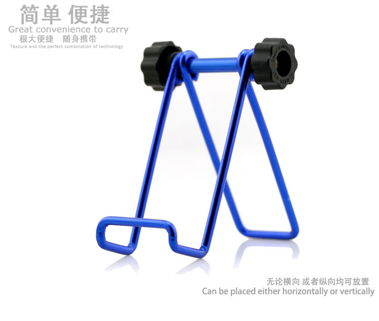 2015 new extensible Metal stent lazy rotating folding tablet great convience endurable for ipad 1 2