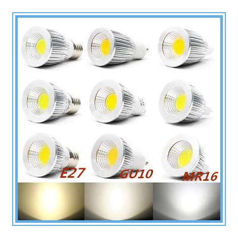 Dimmer High Power COB MR16 LED Light Bulb 9W 12W 15W COB E14/E27/GU10/GU5.3 LED Spot Light Bulb Lamp(China (Mainland))