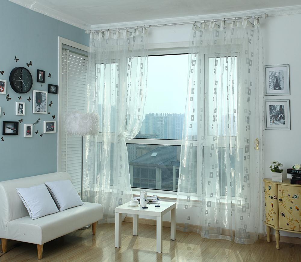 belle ikea moderne fen tre de rideau balcon de d pistage voilages pour le salon porte fen tre. Black Bedroom Furniture Sets. Home Design Ideas
