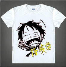 One Piece T-Shirt Fashion Men Women Clothes Anime Short Sleeve T Shirt Luffy Cosplay Tshirt Top #1