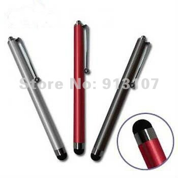 NEW!Round Head Capacitive Stylus Touching Pen for iPhone 4 iPad iPad 2 Samsung Galaxy S2 HTC Sensation 4G 8 Color choose