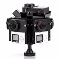 Aerial Photography PV6A 360VR Panoramic Rig Agear Bracket Frame Spherical GoPro Accessories Sport Camera 3 3
