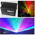 RGB Laser Lighting Sound Active Images 7Watt Half the Price of X Laser Skywriter