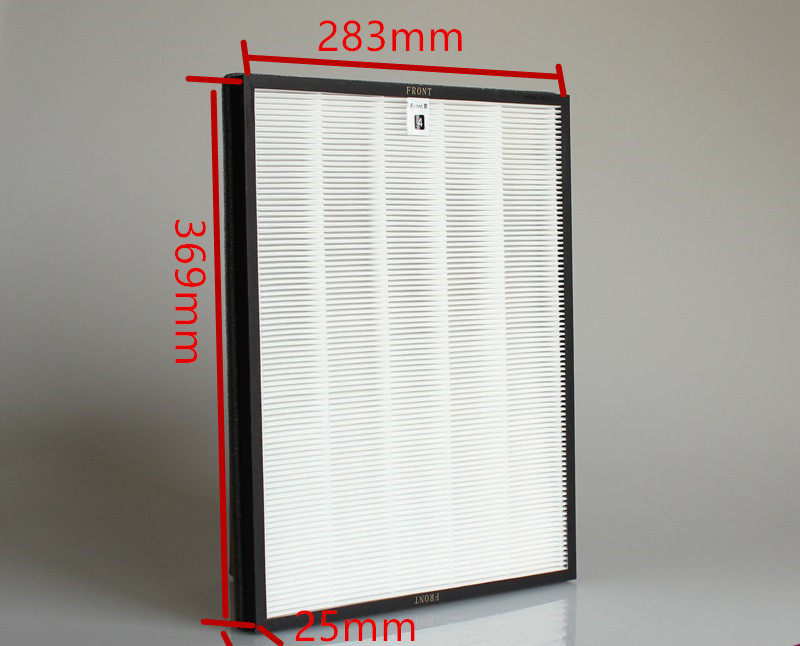 hepa filter air purifier parts HEPA dust collection filter for AC4072 AC4074 AC4083 AC4084 AC4085 AC4086 AC4014size 369*283*25mm(China (Mainland))