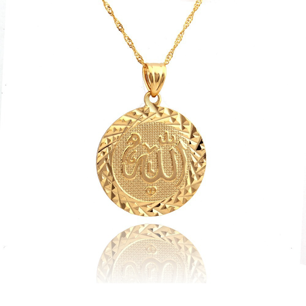 2015 new arriveal muslim jewelry wholesale classic 18k
