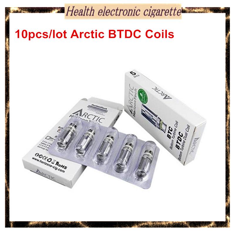10pcs/lot Horizon Arctic BTDC Coils Head 0.2ohm 0.5ohm Arctic Atomizer Coil Replacement Coils Arctic Clearomizer Arctic sub tank(China (Mainland))