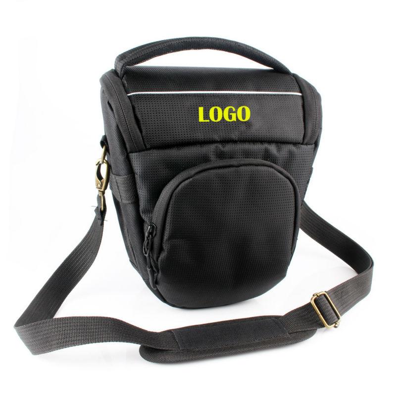 Free Shipping New Triangle Digital Camera Case Bag For Nikon D7000 D5100 D90 D80 D70 D5300 D3200 D80 D3100 18 105mm lens P520