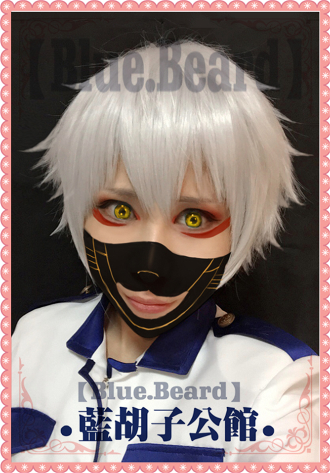Free Shipping Touken Ranbu Online Cosplay Wig Nakigitsune Short Full Lace Wigs Anime Cosplay Women Synthetic Hair Wigs + CAP<br><br>Aliexpress