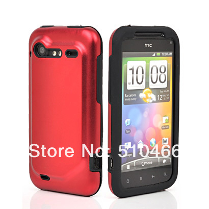 FREE SHIPPING NEW Silicon aluminum shell ALUMINUM METAL CASE COVER FOR HTC Incredible S S710e G11 FREE SHIPPING(China (Mainland))