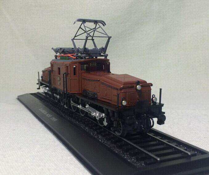 Plastic pvc Fine ATLAS 1:87 crocodile electric locomotive Ce6 / 8 II Nr train tram model(China (Mainland))