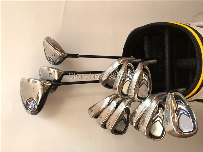 12PCS XX10 MP900 Complete Set MP900 Golf Clubs Driver + Fairway Woods + Irons R/S-Flex Graphite/Steel Shaft With Cover Wrench(China (Mainland))