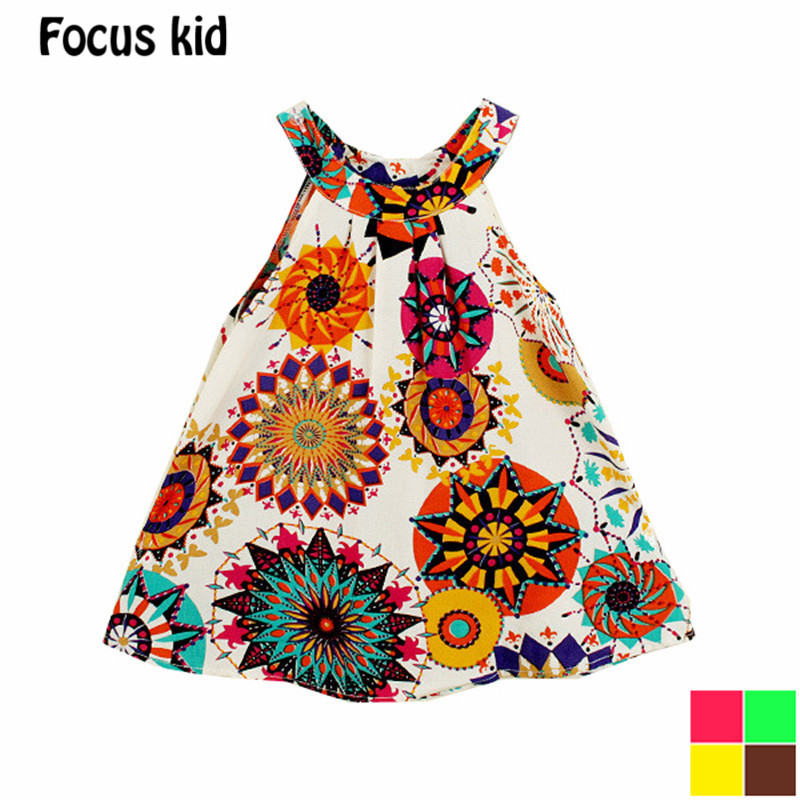 2016 new girl dress plus size european style dress baby girls clothes cotton girl clothing Children dresses Q021(China (Mainland))