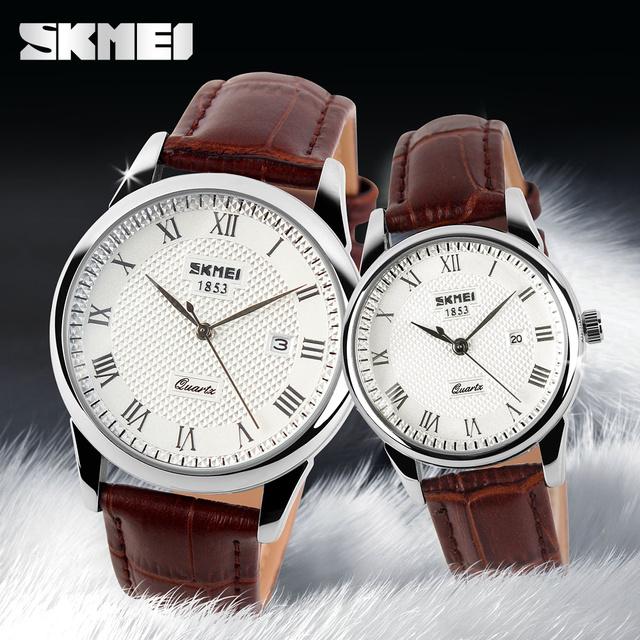 Zegarek casualowy SKMEI rzymskie cyfry trzy wersje