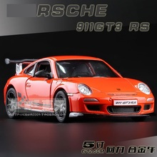 High Simulation Exquisite Baby Toys: New and Original 911GT3 RS Model Decoration 1:36 Alloy Sports Car Model Excellent Gifts(China (Mainland))