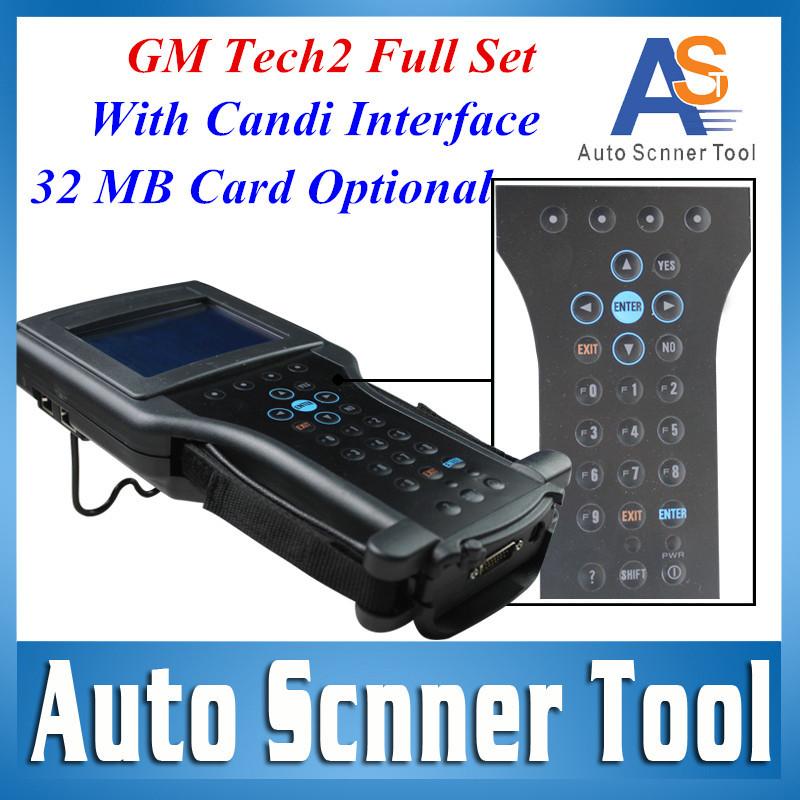 2015 G M Tech 2 Scan Tool With Candi Interface+Tis2000+32MB Card for G M,opel,SAAB,Isuzu,Suzuki,Holden(China (Mainland))