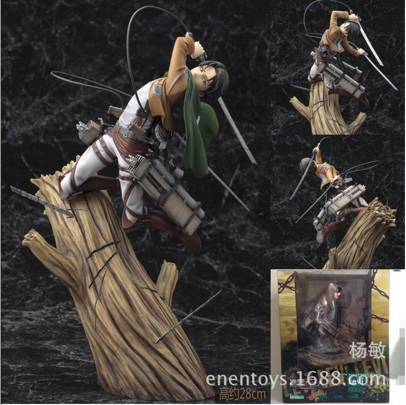 Гаджет  New Arrival!!! Japanese Amine Attack On Titan Eren Jaeger 28cm PVC Action Figure Toys Gifts Models None Игрушки и Хобби