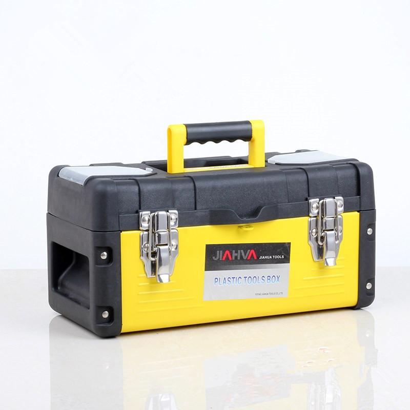 Фотография Plastic metal toolbox multifunction home hardware maintenance toolbox 17 inch box storage box