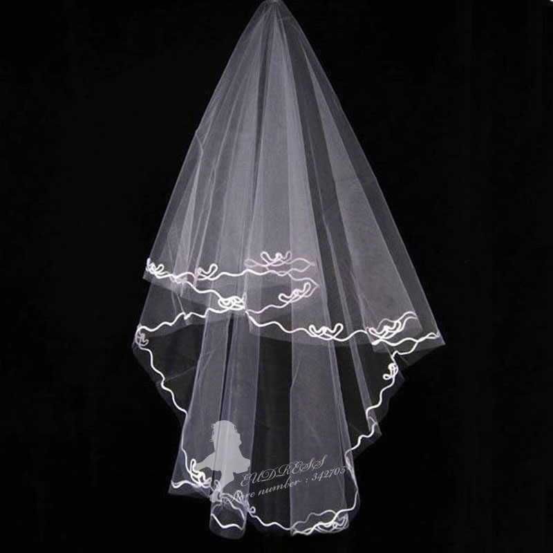 ivory champagne bridal veils custom made colors veil bridal wedding