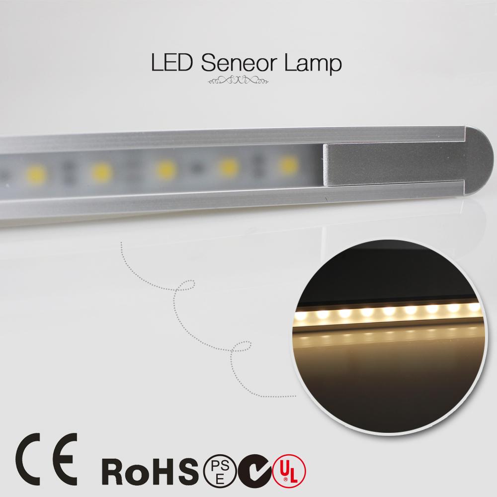20pcs/lot Wireless PIR Motion Sensor light kitchen led under Cabinet light Wardrobe Drawer lamp DC 12V Cool/warm White(China (Mainland))