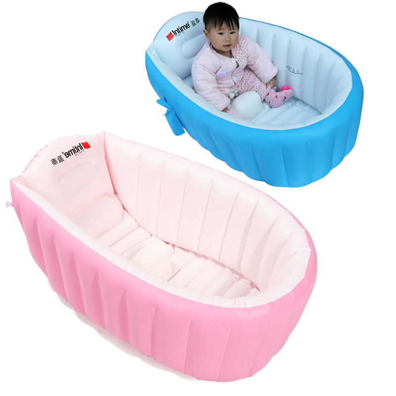 inflatable baby bathtub portable baby swimming pool inflatable swimmingpool for newborn baby. Black Bedroom Furniture Sets. Home Design Ideas