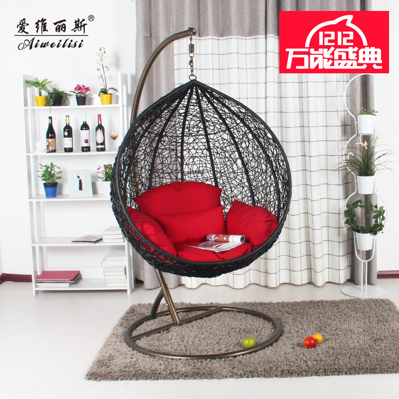 Aiweilisi hanging basket chair indoor and outdoor