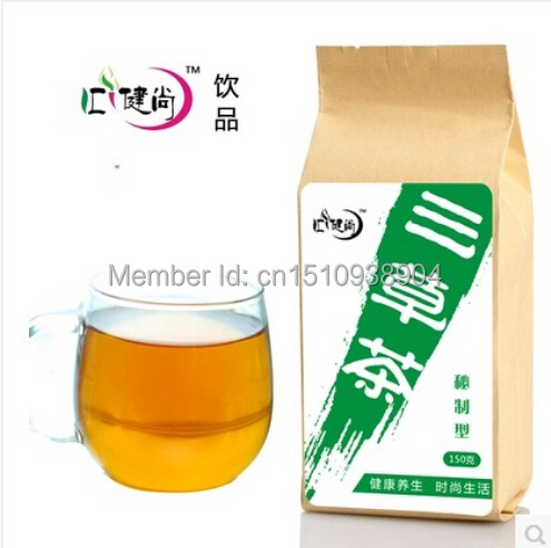 Three leaf Fast weight loss Slimming tea'm Fat slim 3 kinds Chinese natural herbal tea Health care - Beautiful -store store