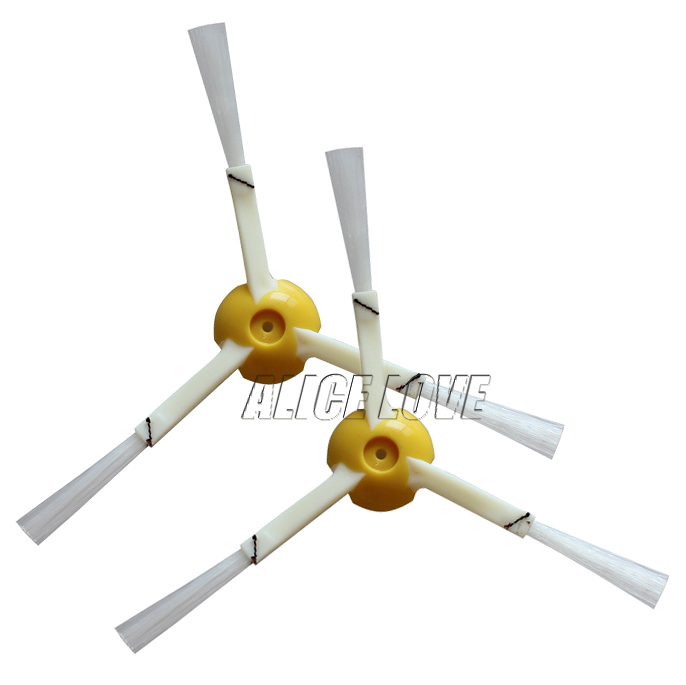 4pcs Brush 3 Armed Replacement For iRobot Roomba 800 Series 870 871 880 980 Robotic Vacuum Cleaner Accessories(China (Mainland))