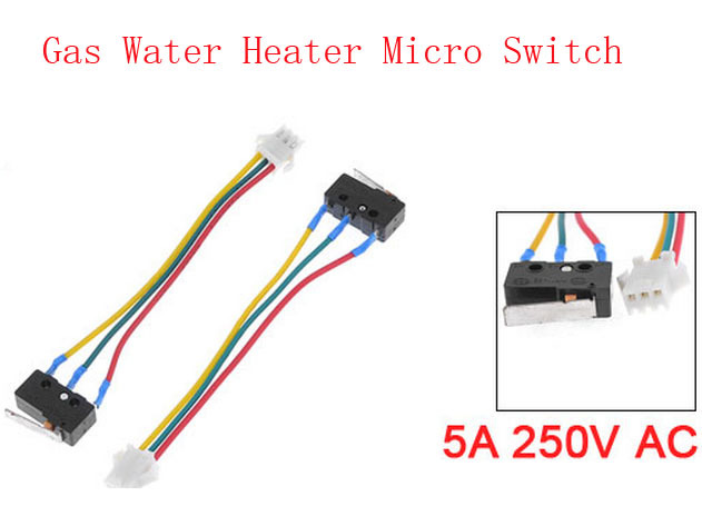 5A 250V AC Hinge Lever Actuator SPDT Micro Switch for Vanward Water Heater 10pcs(China (Mainland))