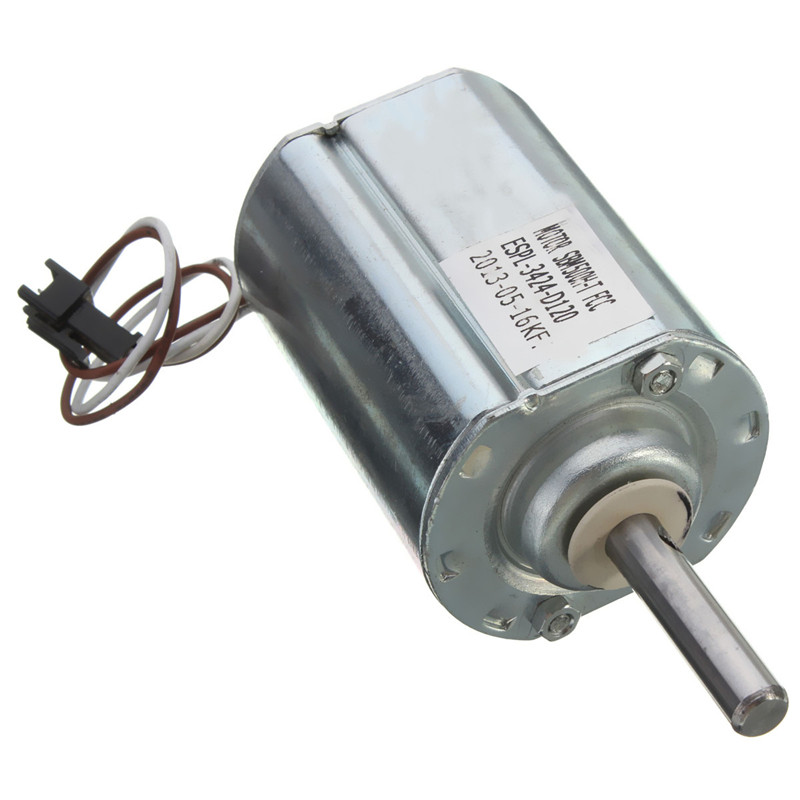 120V DC DIY Motor Wind Generator Power Supply Parts 2500 RPM Motor Height 50 mm Actual Power 55 W(China (Mainland))