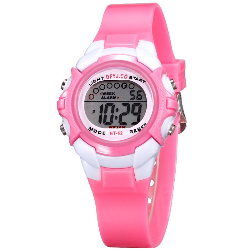Children Kids Watches LED Digital Watch Multifunctional Boys Girls Sports Watch
