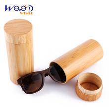 2016 New Bamboo Sunglasses Men Wooden Sun glasses Women Designer Mirror Original Wood Glasses(China (Mainland))