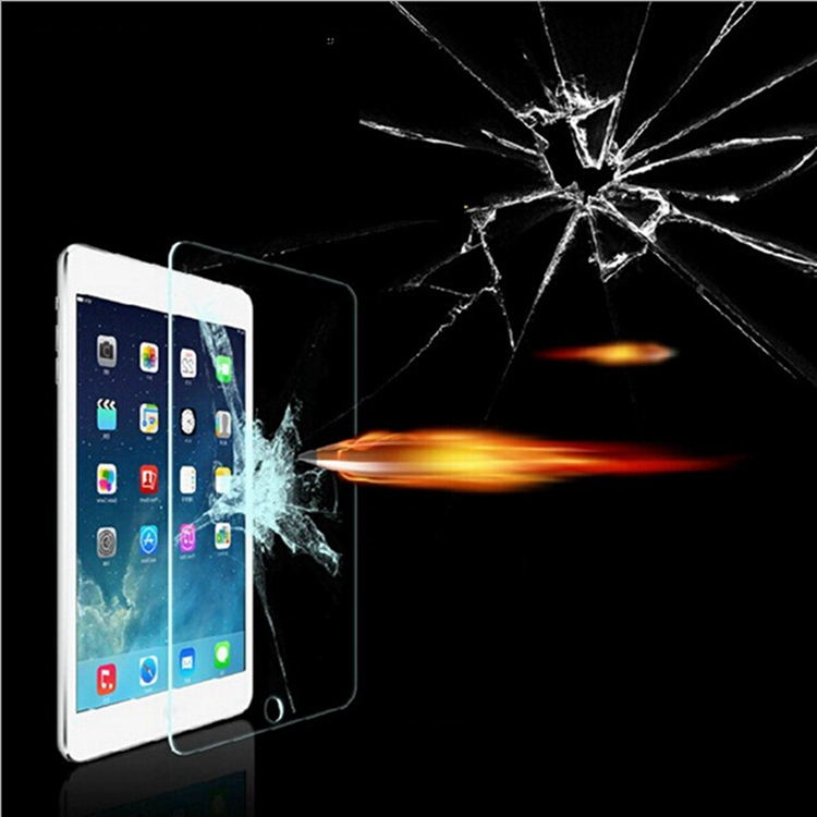 9H Premium Tempered Glass Clear Front Screen Protector for Apple Ipad 2 3 4 Protective Film pelicula de vidro(China (Mainland))