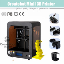 desktop 3d printer 150*150*220mm  with heatbed, touchscreen, dual-extruder
