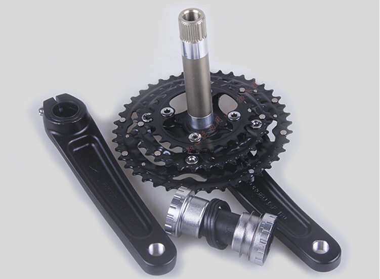 Здесь можно купить  bicycle crankset 42-32-24T bicycle sprocket montanha bike crank wheel mtb bike cranks alloy crankset 170MM  Спорт и развлечения