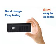 XBMC Miracast/DLNA TV Dongle Android 4.4 MK808B Plus HDMI TV Stick Amlogic M805 Quad-Core 1GB 8GB Mini PC Bluetooth(China (Mainland))