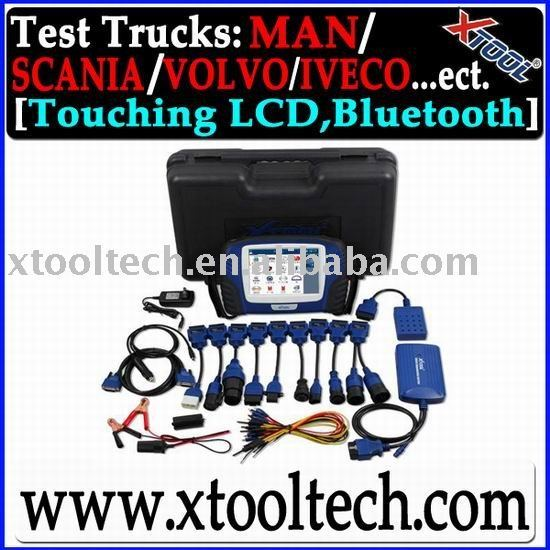 PS2 HEAVY DUTY /universal truck professional diag tool/touching LED screen/wireless bluetooth operation systerm