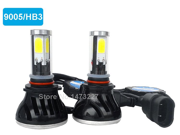 H4 H7 H13 H11 H1 9005 9006 COB LED Headlight 80W 8000LM Super Brigh Car LED Headlights Bulb Head Lamp Fog Light Pure White 6000K (6)